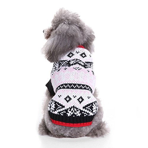 Clearance Deals Dog Halloween Costume Christmas Sweater Pet Clothes Festival Dress Sweater