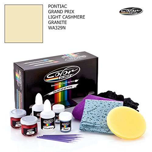 - PONTIAC GRAND PRIX / LIGHT CASHMERE GRANITE - WA329N / COLOR N DRIVE TOUCH UP PAINT SYSTEM FOR PAINT CHIPS AND SCRATCHES / PRO PACK