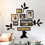 ZGP Home@Wall photo frame Guest Restaurant Multi Combination Decorative Photo Frame Love Tree Shaped Marriage Room Living Room Decoration Painting Sofa Background Photo Wall (Color : B)