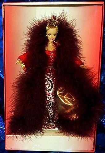 Iridescent Taffeta Coat - Barbie Cinnabar Sensation Byron Lars Design 12