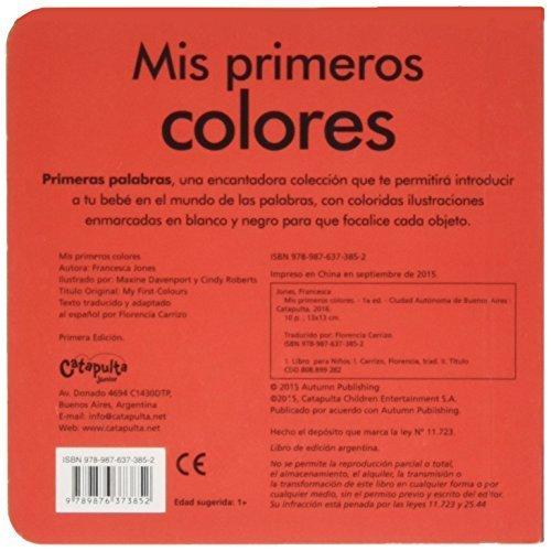 MIS PRIMEROS COLORES (Spanish) Paperback – 2015