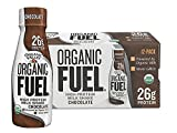 Organic Valley, Organic Fuel, High Protein Milk Shake, 26G Protein, Chocolate, 11 ounces (Pack of 12)