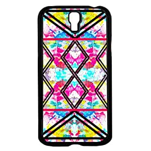 Pink Floral Background with Black Tribal Arrows Hard Snap on Phone Case (Galaxy s4 IV)