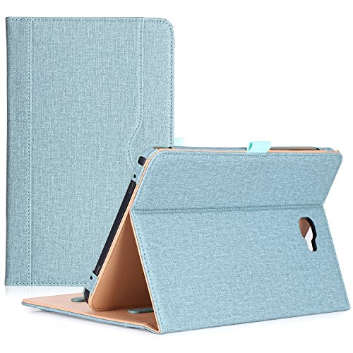 ProCase-Samsung-Galaxy-Tab-A-101-Case---Stand-Folio-Case-Cover-for-Galaxy-Tab-A-101-Inch-Tablet-SM-T580-T585-with-Multiple-Viewing-Angles-Document-Card-Pocket--Teal