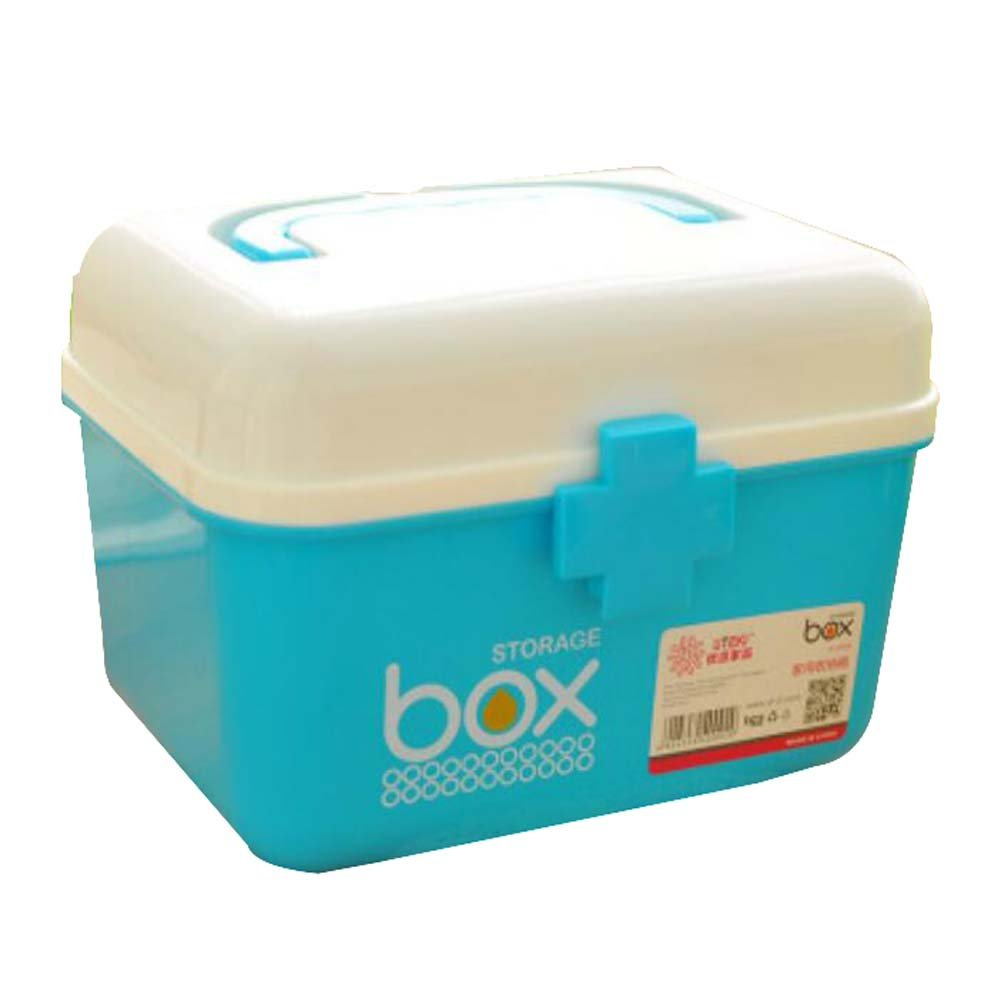 DRAGON SONIC Multi-purpose Storage Box Organizer/Medicine Box/Emergency Kit,D2 by DRAGON SONIC (Image #1)