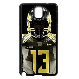 Sports oregon ducks jersey Samsung Galaxy Note 3 Cell Phone Case Black 91INA91438355