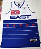LEBRON JAMES SIGNED AUTOGRAPHED 2006 ALL-STAR JERSEY CLEVELAND CAVALIERS UDA