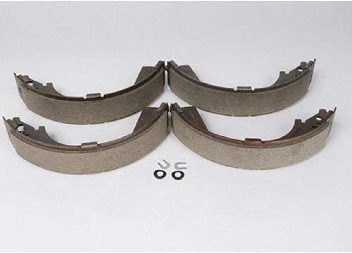 ACDelco 17263R Professional Durastop Riveted Rear Drum Brake Shoe Set