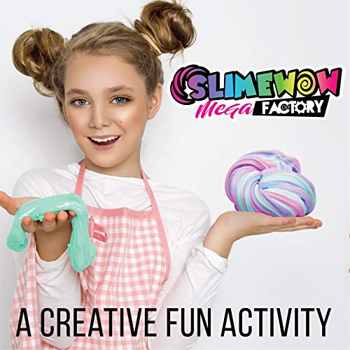 Slime Kit for Girls | Unicorn DIY Making Fluffy Slime Complete Supplies KIT | Including POOPSIE Surprises and Slime CONTAINERS | Art and Crafts at Home and Party Fun| Hottest Girl by SlimeWOW (Image #2)