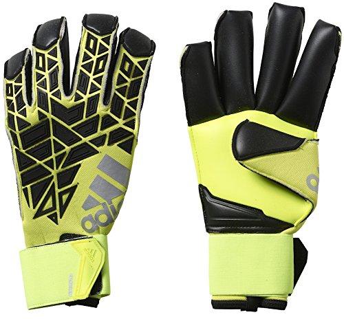 Fingertip Goalkeeper Glove - adidas ACE Trans Fingertip Soccer Goalkeeper Gloves (Sz. 10) Solar Yellow, Black
