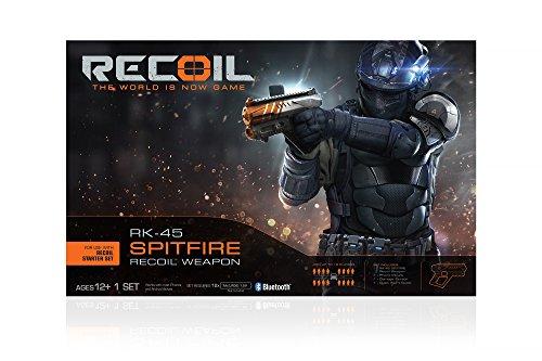 Recoil Laser Combat Rk 45 Spitfire Blaster Laser Tag