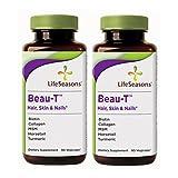 LifeSeasons Beau-T Herbal Skin, Hair, and Nails, 90 Vegicaps -2 Pack