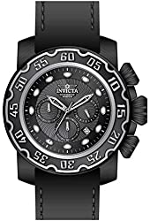 Invicta Lupah Chronograph Black Dial Mens Watch 22485