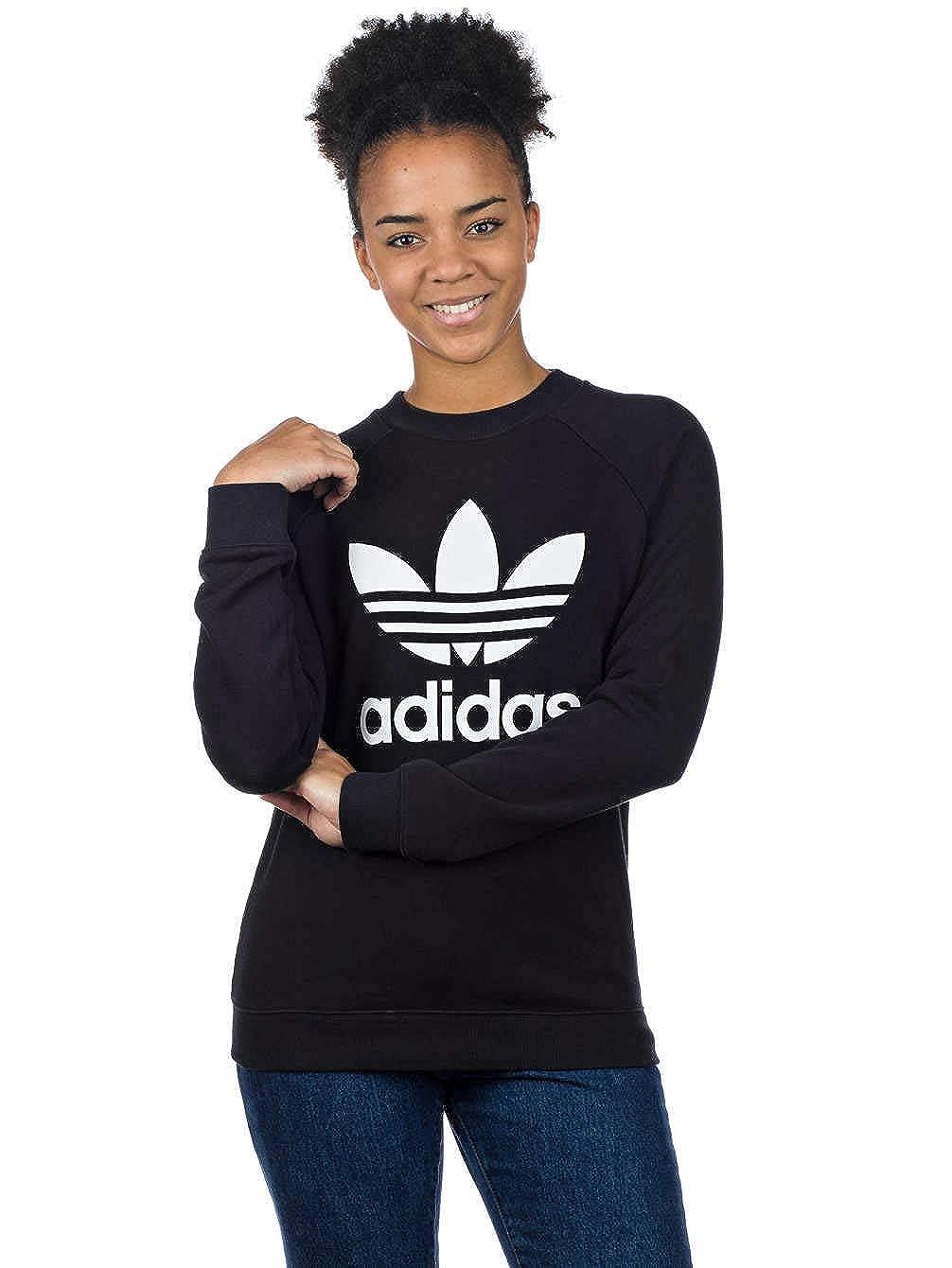adidas Damen TRF Crew Sweat Sweatshirt