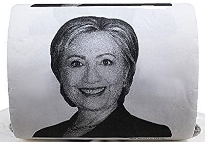 The Gags Hillary Clinton Toilet Paper-Novelty Toilet Paper- Political-Campaign-Presidential Race Gag Gift