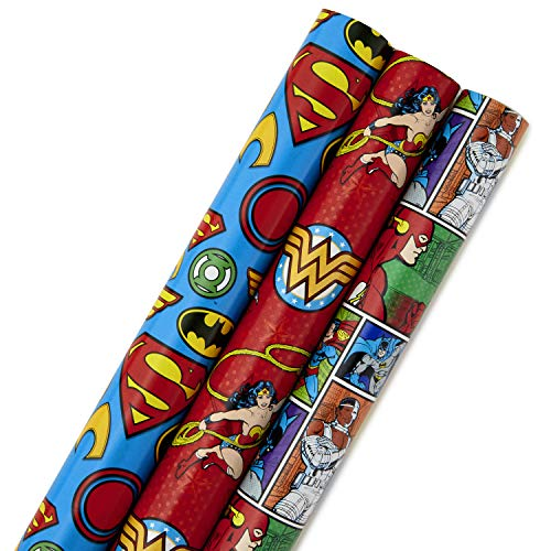 Hallmark Justice League Wrapping