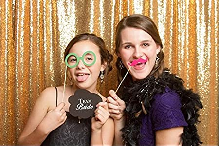 Backdrop Wedding Best Choice 5ft6ft Gold Sparkly Sequin Photo