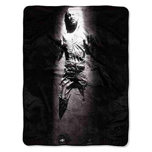 Star Wars Han Solo in Carbonite Fleece Throw Blanket 46' x 60'
