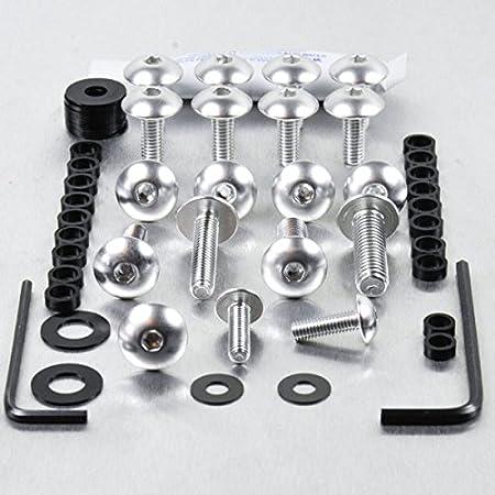 Noir Kit visserie car/Ã/©nage en aluminium SV650 S Sport 08