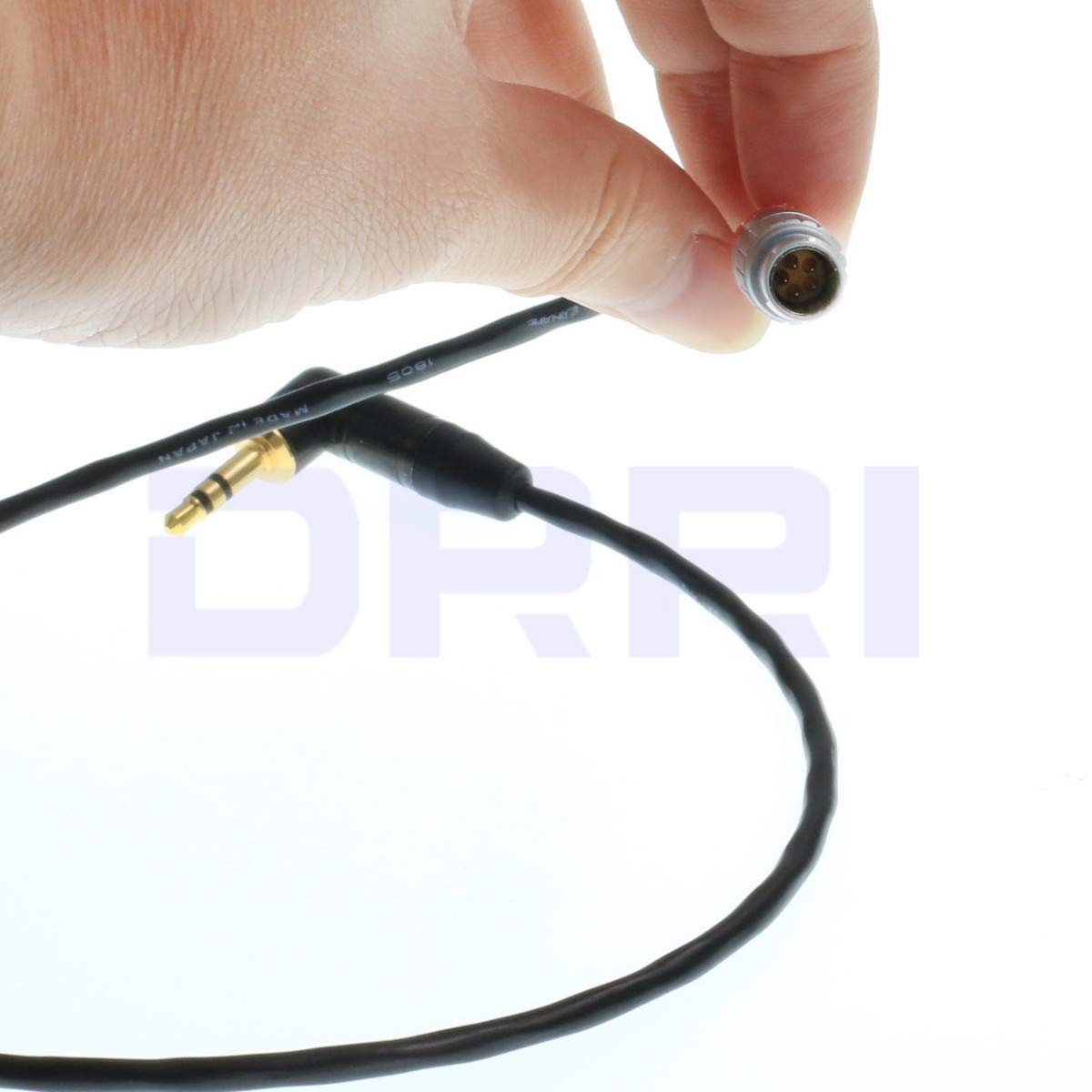 DRRI Tentacle Sync Adapter Cable for 5Pin to 3.5mm Jack Tentacle Timecode Generator