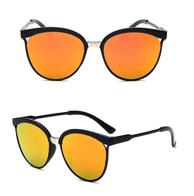 Mujer Gafas de Sol Hawkers Verano,Sonnena🌟🌟🌟Hombres Mujeres cuadradas Vintage Espejo Gafas de Sol Gafas de Deportes al Aire Libre para Ciclismo Pesca ...