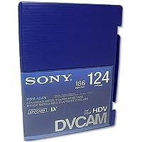 Sony PDV-124N/3 DVCAM 124 Minutes Tape