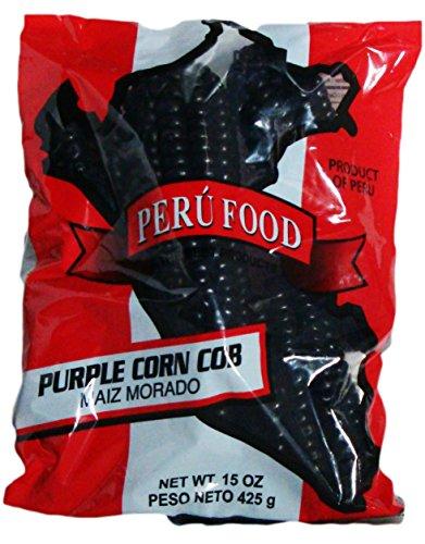Peru Food Maiz Morado Purple Corn Cob 15 Oz. (Dried Purple Corn compare prices)
