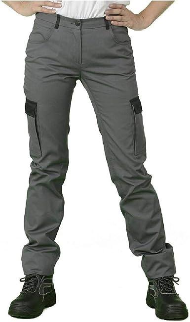 gris Pantalon treillis de travail