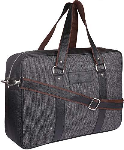 Lioncrown 15.6 inch Office Laptop/Messenger/Shoulder Bag  Dark Grey