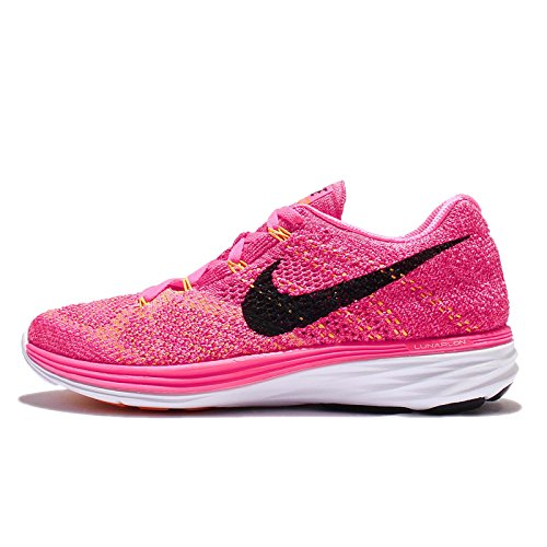 3 Shoes Flyknit Women's Running Pink Lunar Nike CPtq8