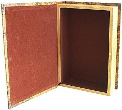 zeitzone Hohles Buch Geheimfach Buchversteck Atlas Nord-Amerika Antik-Stil 21cm