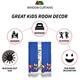 Franco Kids Room Window Curtain Panels Drapes