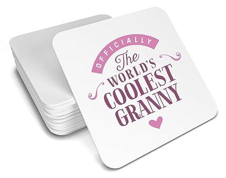 Regalo de la abuela, Cool abuela, abuela posavasos, regalo ...