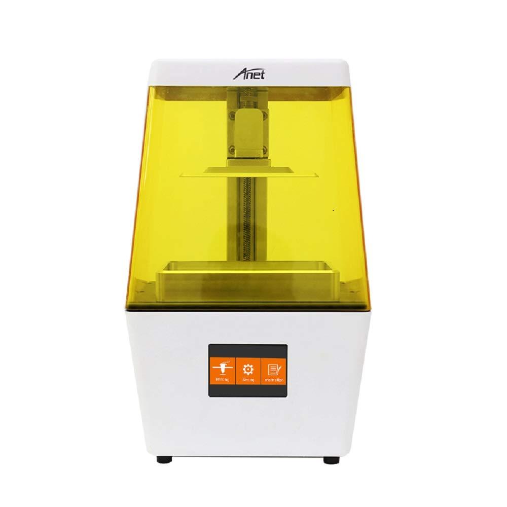 Amazon.com: Anet UV LCD 3D impresora N4, 40 um Ultra Alta ...
