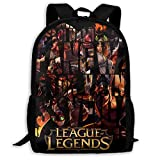 Best Legend Laptop Backpacks - LOL League Of Legends Adult Shoulder Bag Traveling Review