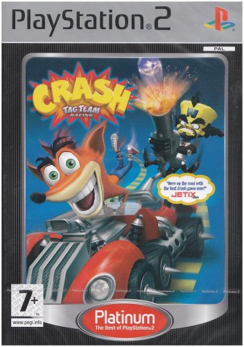 CRASH TAG TEAM RACING (PS2) (Crash Tag Racing Team Bandicoot)