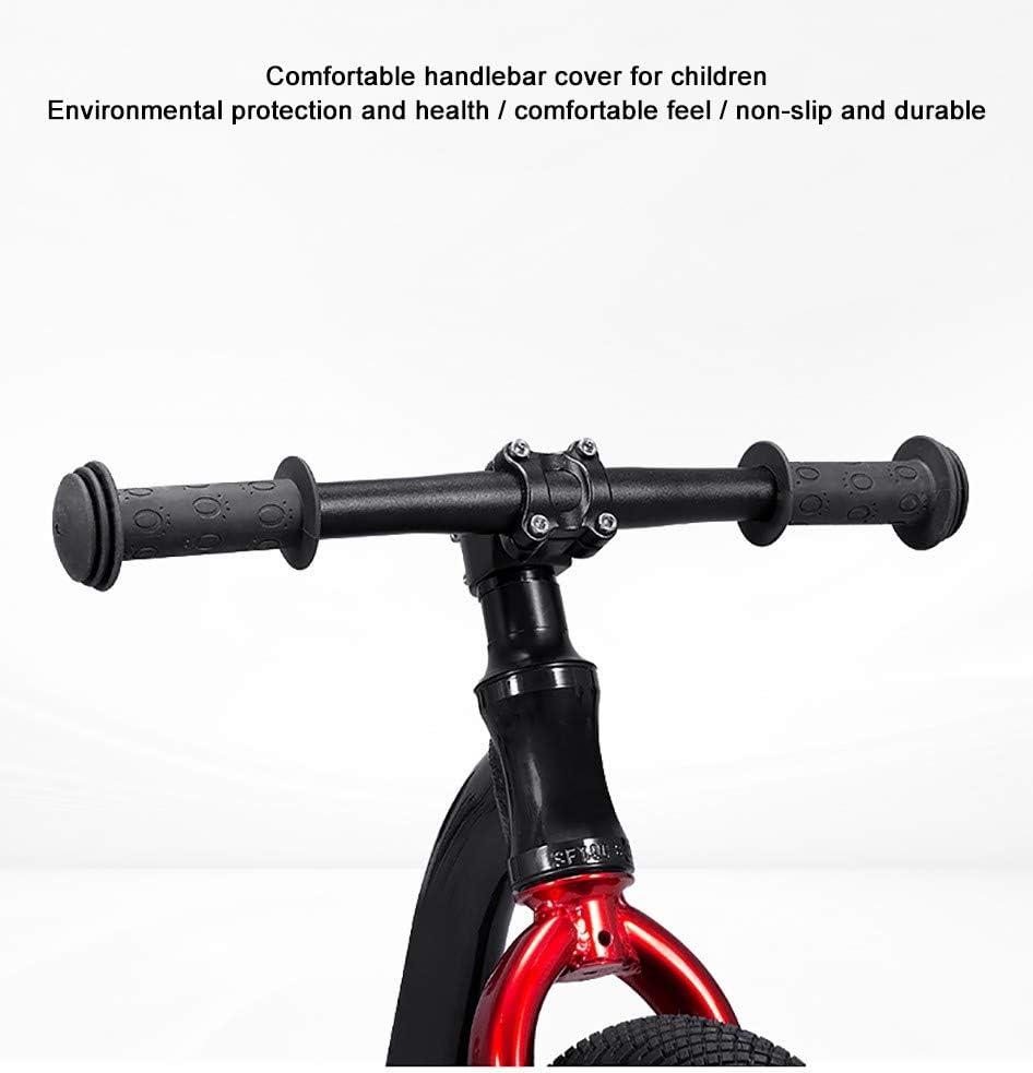 COKECO Fahrradgriffe ergonomische Lenkergriffe aus rutschfestem Gummi Roller Griff Abdeckung Kinder Fahrrad Griff Abdeckung Umweltschutz Anti-Rutsch-Weichgummi Griff Dreirad Zubeh/ör