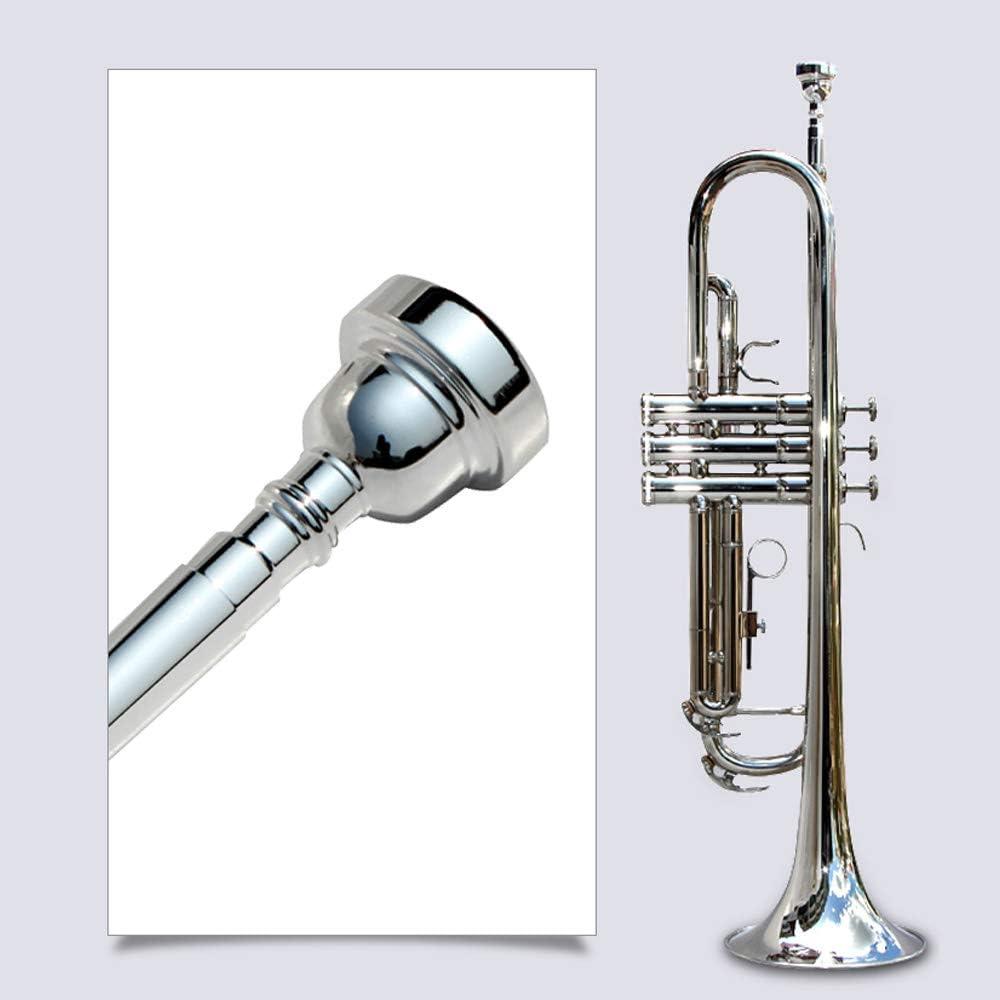 Parduba 2.5 24K Gold Flugelhorn Mouthpiece Small Morse//Bach Taper