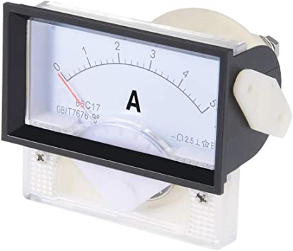DC 100A YXQ DC 0-100A Analog Current Panel 85C1 Amp Ammeter Gauge Meter 2.5 Accuracy for Auto Circuit Measurement Tester