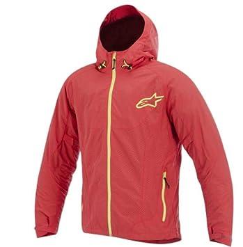 Alpinestars Tornado chaqueta textil rojo/amarillo pequeño: Amazon.es: Coche y moto