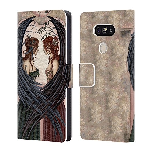 Official Amy Brown Sisters Fantasy Leather Book Wallet Case Cover For LG G5 SE / G5 Lite