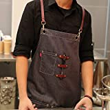 VANTOO Cotton Apron for Men and Women-Tool Work