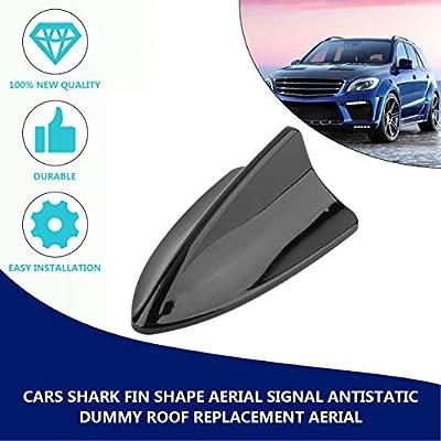 Antena de repuesto para coche dise/ño de aleta de tibur/ón resistente al agua EdBerk74