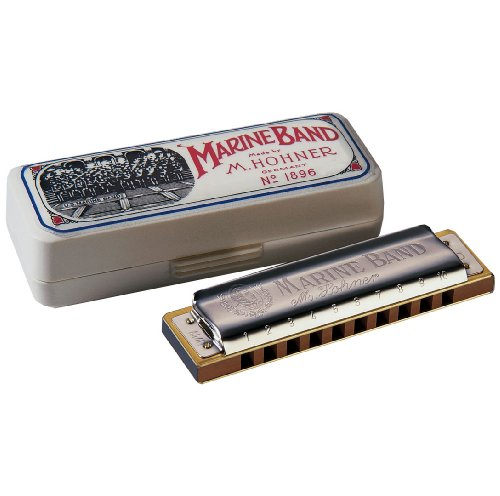 Hohner 1896BX-G# Marine Band, Key Of G# Major from Hohner Accordions