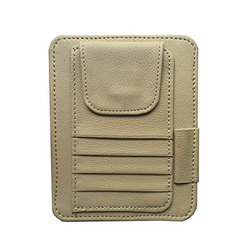 Pocket Organizer Pouch Bag Holder In-Car (Beige) - 7