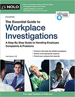 Essential Guide to Workplace Investigations, 5th Edition