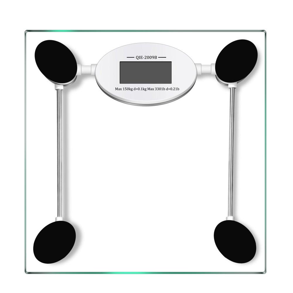 Black Bathroom Scales Amazoncom Body Weight Scales Health Household Digital