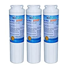 Icepure RWF900A-3 Fridge Replacement Water Filter For Whirlpool 4396395