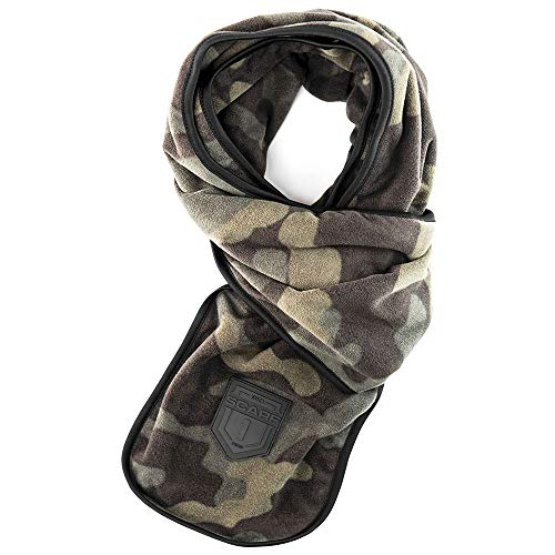 BioScarf - Cold Weather Scarf with Built-in Reusable N95 Air Filter for Germs, Dust, Pollution and Smoke (Subway Scarf)