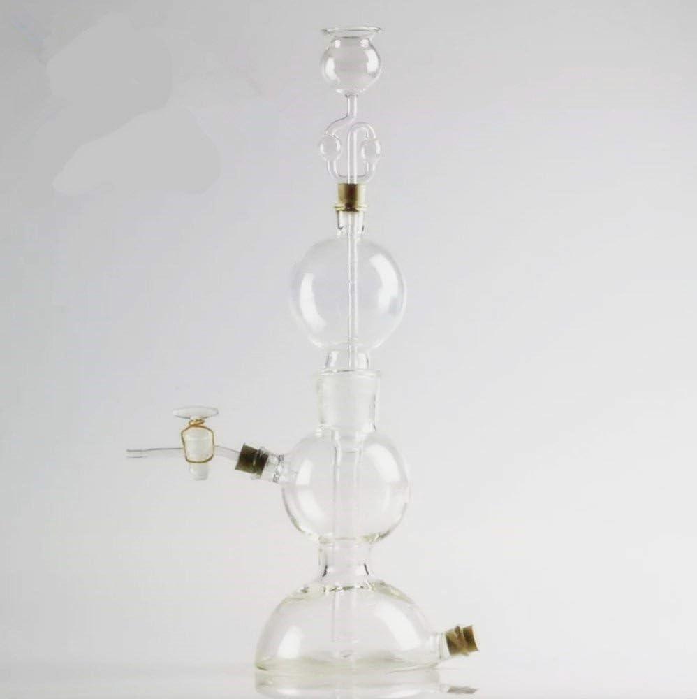 Kipp - Generador de gas hidrógeno (125 ml, cristal de ...